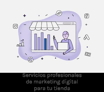 Servicios profesionales de marketing digital para tu tienda